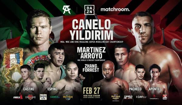 Canelo Alvarez se reunirá con Avni Yildirim la noche del 27 al 28 de febrero.