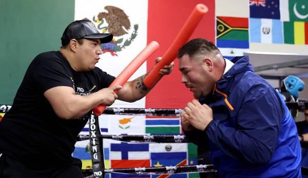 Andy Ruiz wirkt fitter denn je.