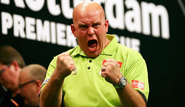 Michael van Gerwen fährt als Top Seed ins Finale Four nach London
