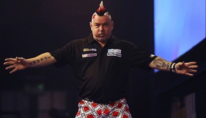 Peter Wright hat das Finale gegen James Wade gewonnen