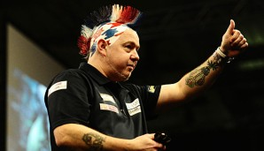 Peter Wright hat die UK Open gewonnen