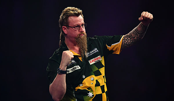Simon Whitlock gewann die Players Championship 4