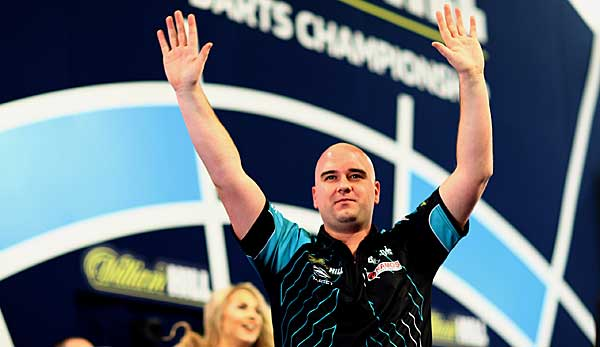 Rob Cross ist Weltmeister 2018