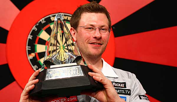 James Wade hat die Premier League of Darts einmal gewonnen