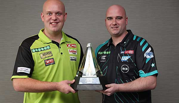Michael van Gerwen und Rob Cross sind die Favoriten bei der Premier League of Darts.