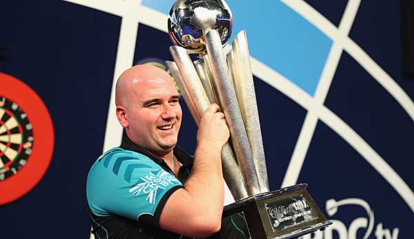 Rob Cross ist Darts-Weltmeister 2018.