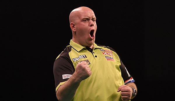 Michael van Gerwen hat das World Series Finals gewonnen.