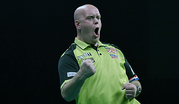 Michael van Gerwen geht als Titelverteidiger in die Premier League of Darts 2020.