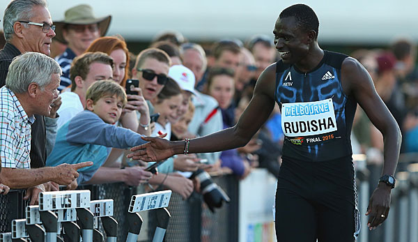 David Rudisha siegte über 800 m in Melbourne