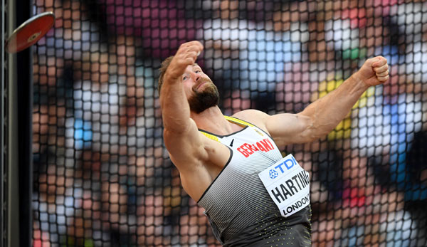 Robert Harting verpasst in London eine WM-Medaille
