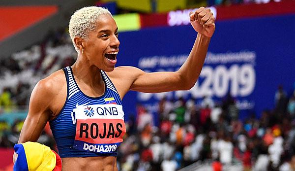 Leichtathletik-WM: Venezolanerin Rojas erneut Dreisprung-Weltmeisterin