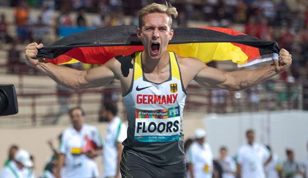 Para-WM: Floors mit Weltrekord zum zweiten Gold - Schäfer wird Zweiter