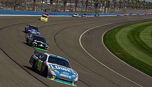 Jimmie Johnson dominierte die Trainingseinheiten beim NASCAR Bank of America 500 in Charlotte