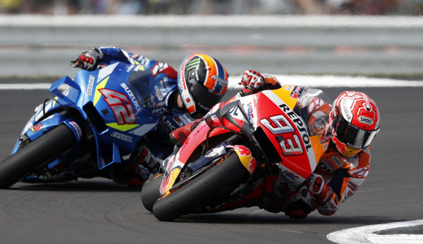 MotoGP - Marc Marquez baut WM-Führung aus - Verfolger Dovizioso mit heftigem Sturz