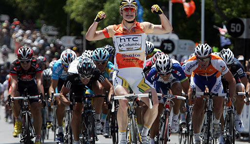 Andre Greipel gewann die Tour Down Under 2010