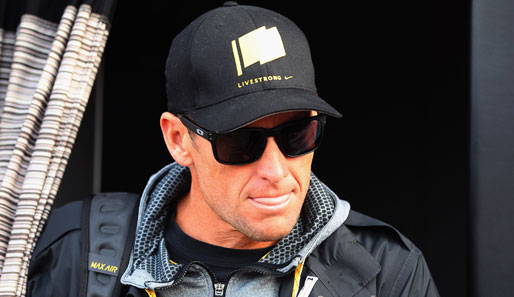 Lance Armstrong ist des Dopings angeklagt