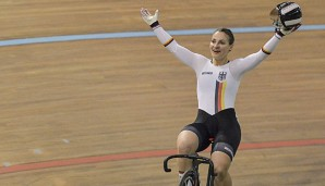 Kristina Vogel gewann den Sprint in Los Angeles