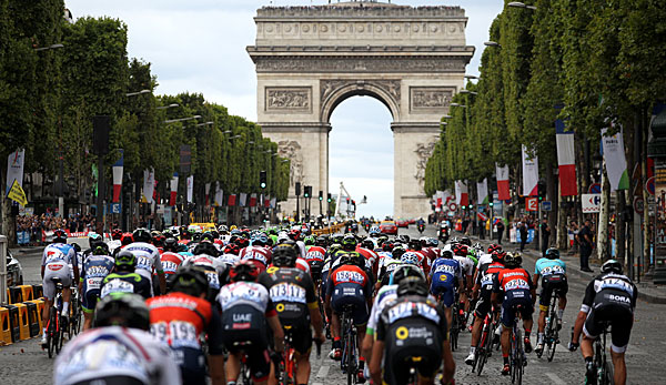 Die Tour de France endet in Paris.