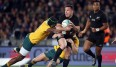 Die All Blacks schlugen Australien deutlich