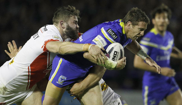 Daryl Clark bleibt bei den Warrington Wolves