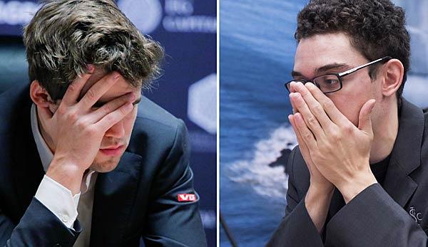 Schach-WM: Caruana trotzt Carlsen ein Remis ab