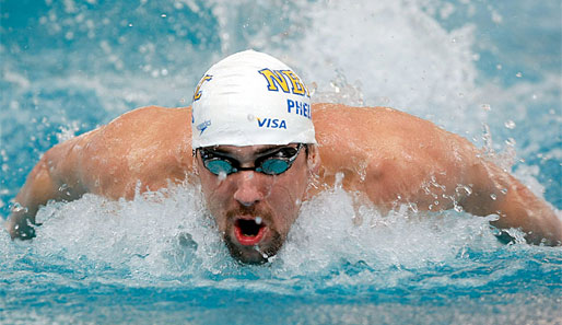 Michael Phelps ist noch nicht in absoluter Top-Form
