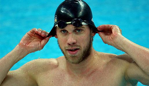 Thomas Rupprath wurde 2005 zum Schwimmer des Jahres gewählt
