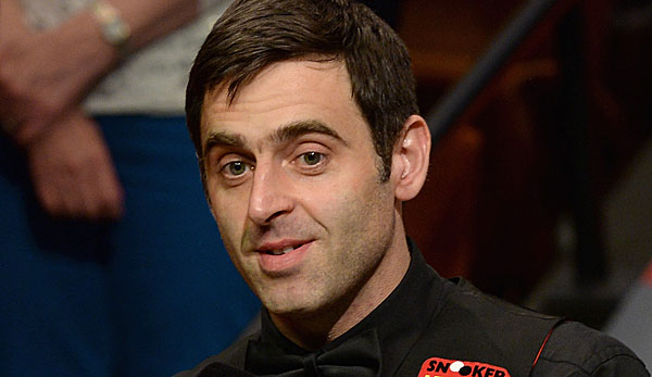Ronnie O'Sullivan gelant der 13. Maximum Break in seiner Karriere