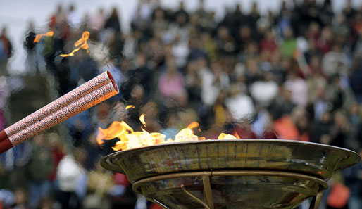 Olympia, Olympisches Feuer, Peking 2010