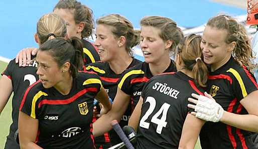 Hockey, Damen, champions, trophy
