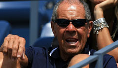 Nick Bollettieri was also once briefly coach of Boris Becker