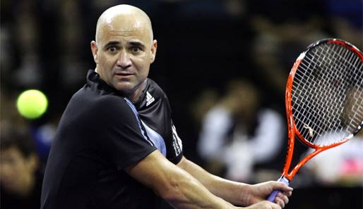 Andre Agassi ist neues Mitglied in der Hall of Fame