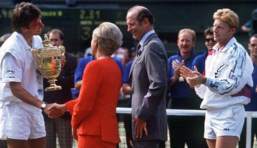 Wimbledon Finale 1991 Michael Stich Vs Boris Becker