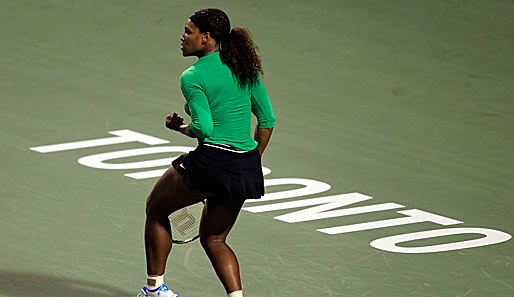 Serena Williams hat das WTA-Turnier in Toronto gegen Sam Stosur gewonnen