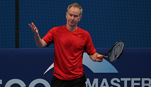 """You cannot be serious!"" John McEnroe wird am Hamburger Rothenbaum gegen Stich antreten"