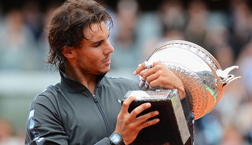 Rafael Nadal holte in Paris seinen siebten French-Open-Titel
