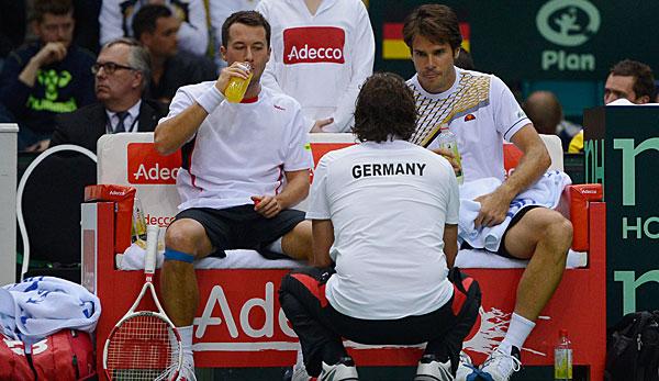 davis cup spanien deutschland