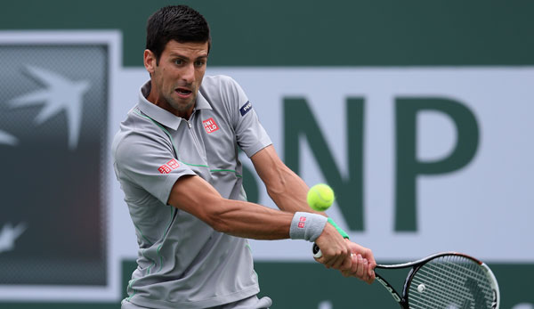 Will den Turniersieg in Indian Wells: Novak Djokovic