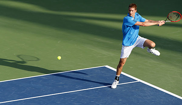 Florian Mayer musste in Indian Wells die Segel streichen