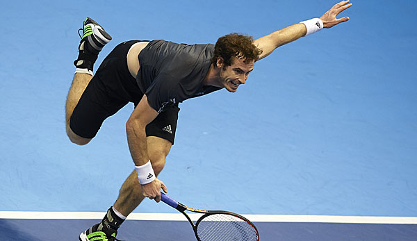 Andy Murray besiegte Tommy Robredo in drei Sätzen