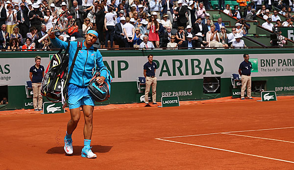 Rafael Nadal scheiterte bei den French Open an Novak Djokovic