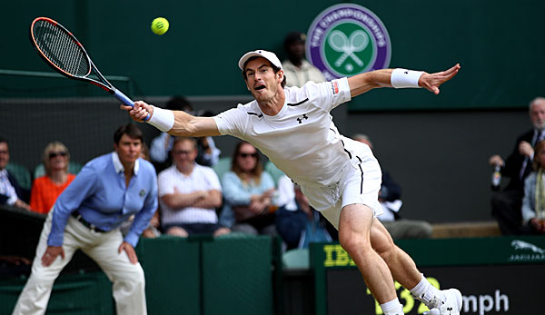 Andy Murray geht als (Fan-)Favorit in das Wimbledon-Finale 2016