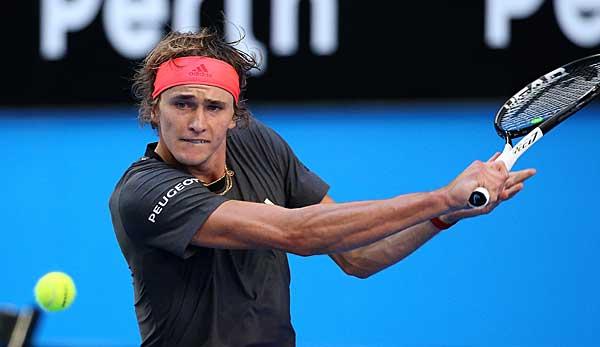 Australian Open Oberschenkelzerrung Alexander Zverev