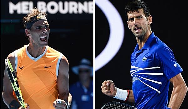 Australian Open 2019 Finale Zwischen Novak Djokovic Und Rafael
