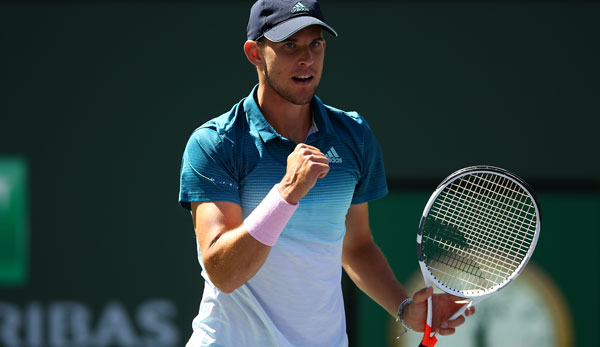 Thiem nach hartem Fight im Indian-Wells-Finale - Federer kampflos gegen Nadal