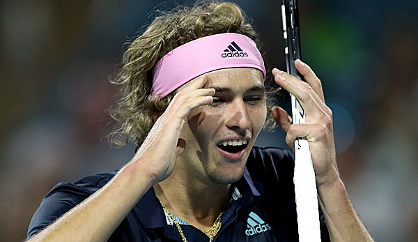 Alexander Zverev unterlag in Miami Oldie David Ferrer.