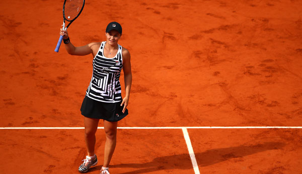 Ashleigh Barty bezwang in der dritten Runde Andrea Petkovic.