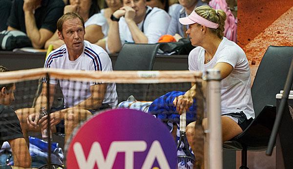 Rainer Schüttler ist nicht länger der Trainer von Angelique Kerber.