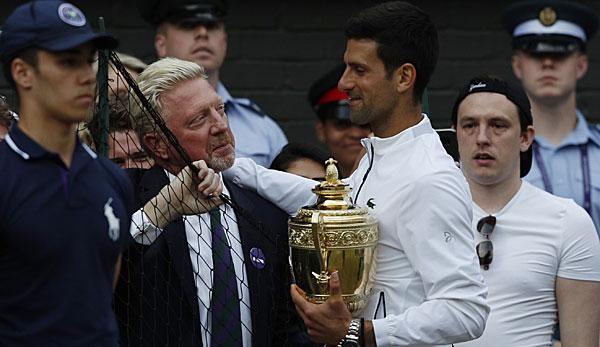 Wimbledon: Becker kritisiert Fans wegen Umgang mit Djokovic