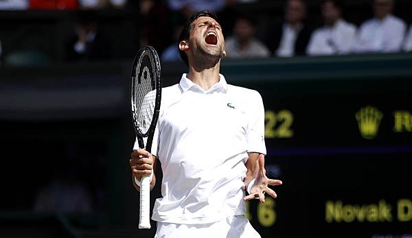 Novak Djokovic könnte sich gegen Roger Federer seinen sechzehnten Grand-Slam-Sieg sichern.